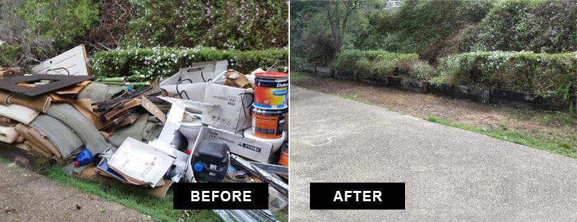 household rubbish removal brisbane