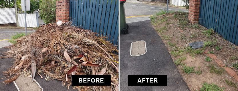 garden waste removal brisbane